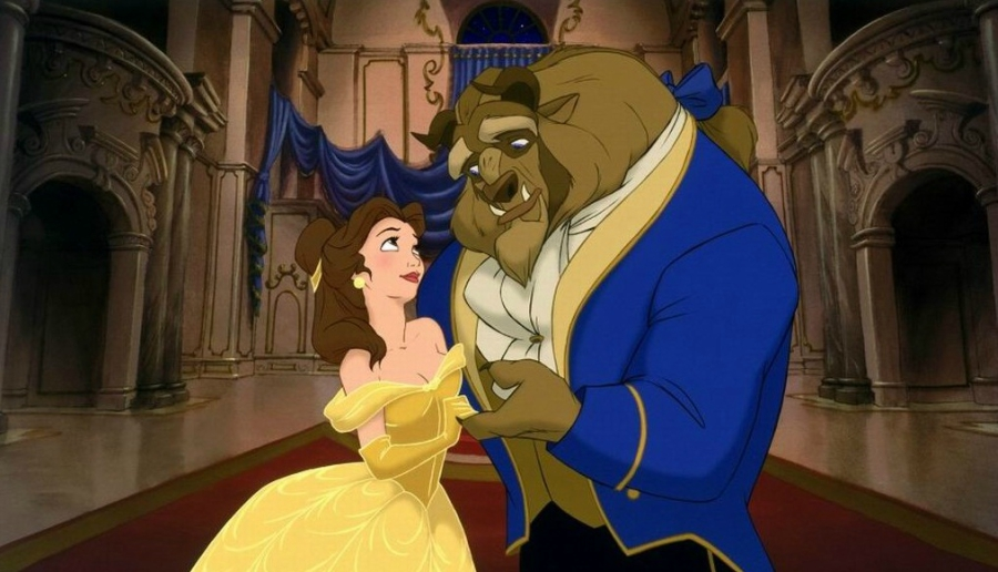 Beauty And The Beast Ballroom Dance Scene