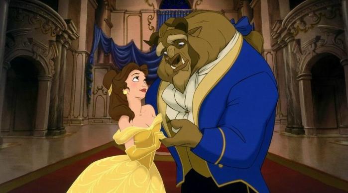 Beauty and the Beast ballroom dance scene