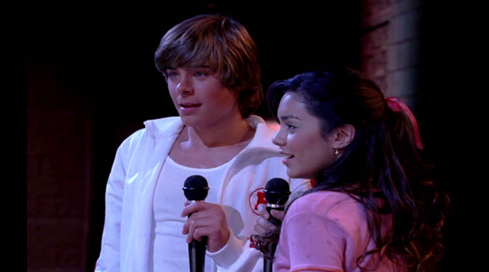 High School Musical Breaking Free scene