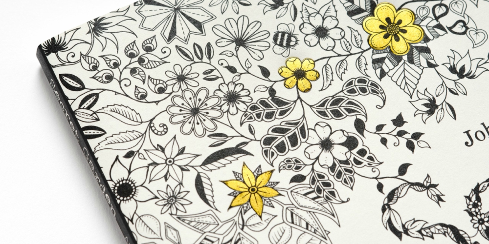 Secret Garden Coloring Book Image