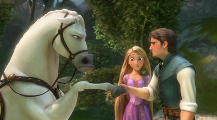 Maximus and Flynn Rider from Tangled screenshot