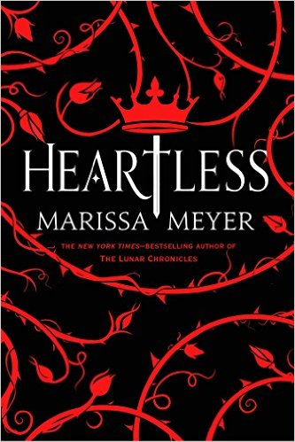 Heartless by Marissa Meyer book cover