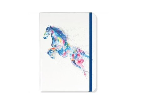 Watercolor horse journal
