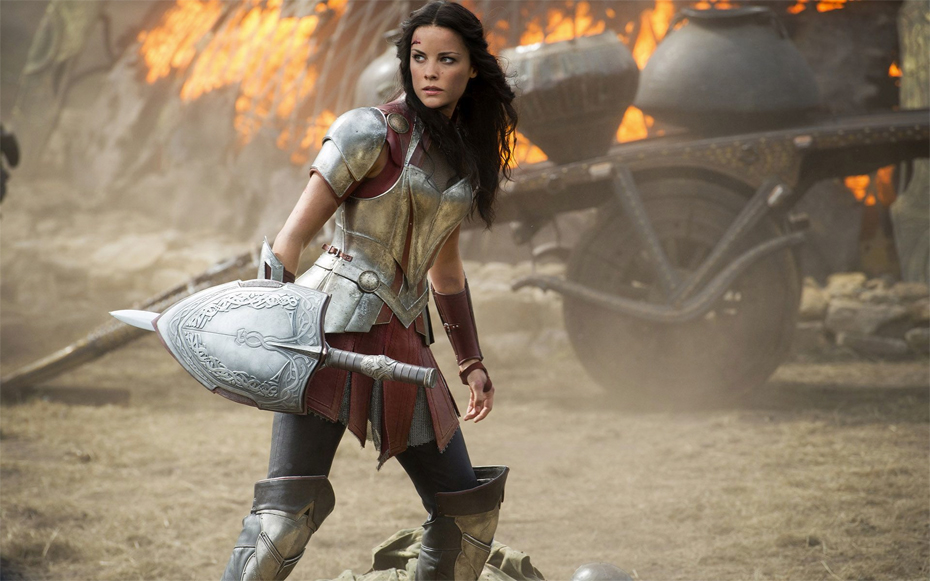 Jaimie Alexander as Sif in Marvel's Thor