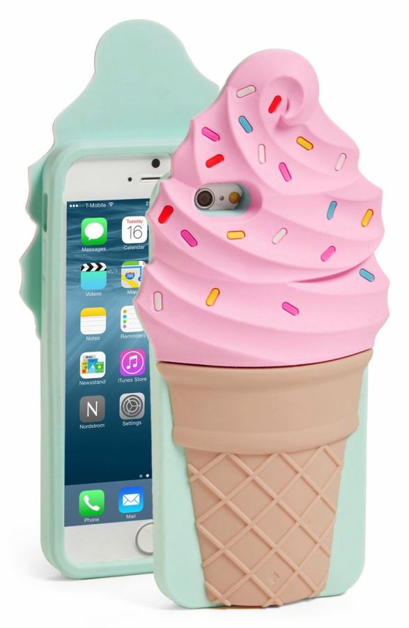 Kate Spade Ice Cream Cell Phone Case