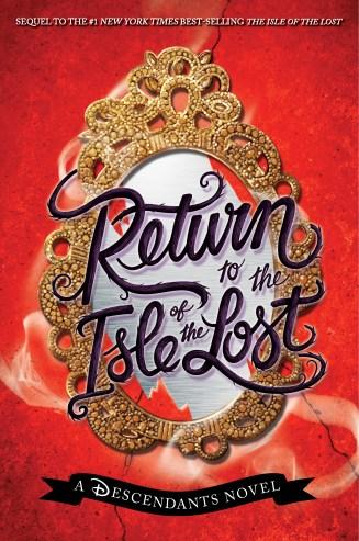 Return to the Isle of the Lost by Melissa de la Cruz book cover