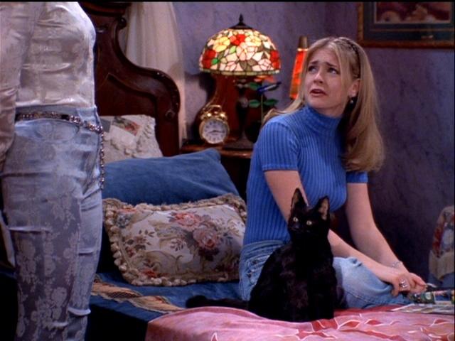 Sabrina with Salem