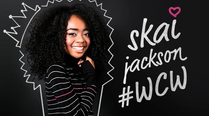 Skai Jackson #WCW art