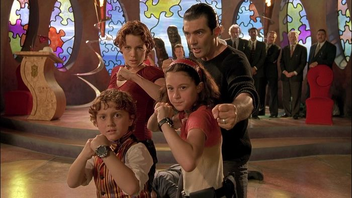 Screen shot from the movie Spy Kids