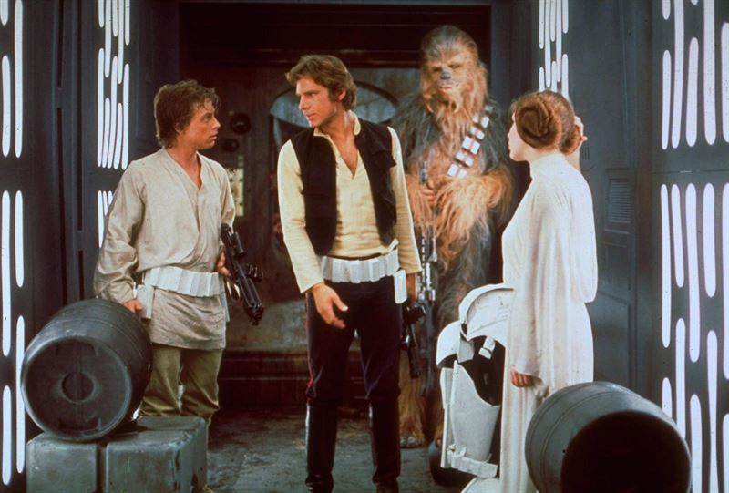 Screen shot from Star Wars: Episode IV - A New Hope