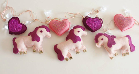Horse string lights