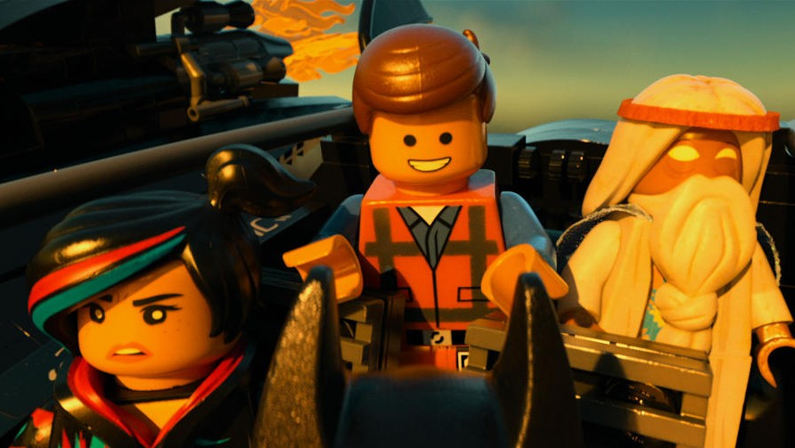 Screen shot from The LEGO movie