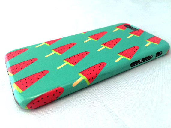Watermelon pop phone case from etsy