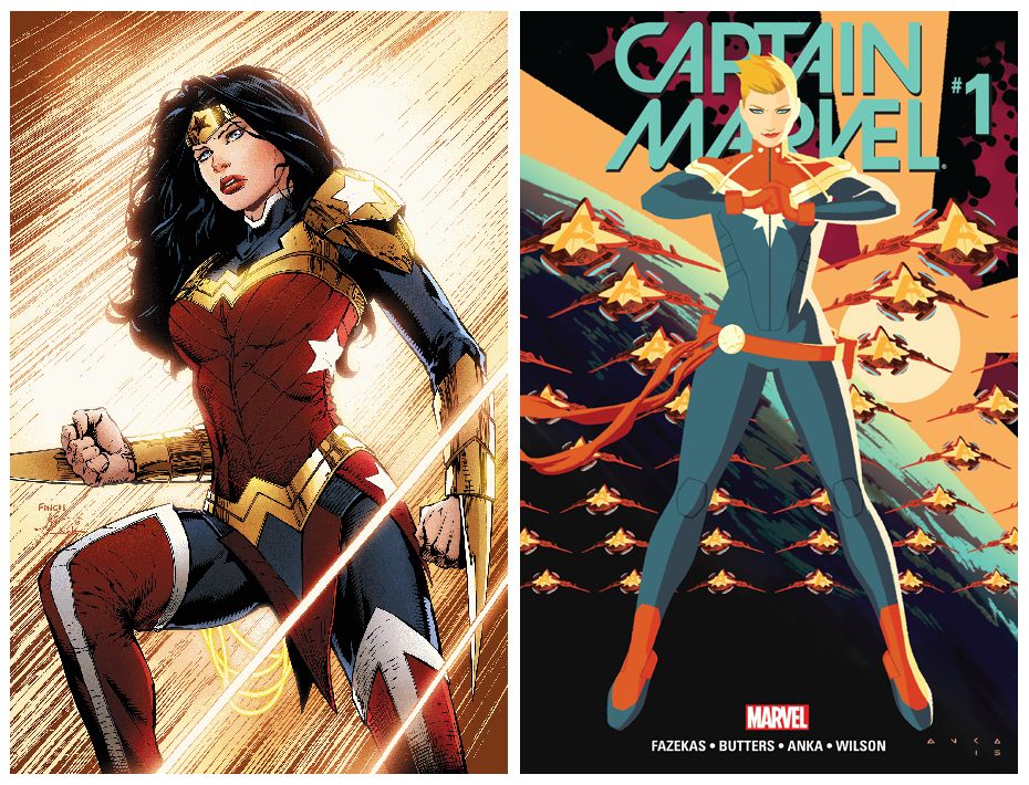 Female superhero movies: Wonder Woman and Captain Marvel are getting their own movies in 2017 and 2018