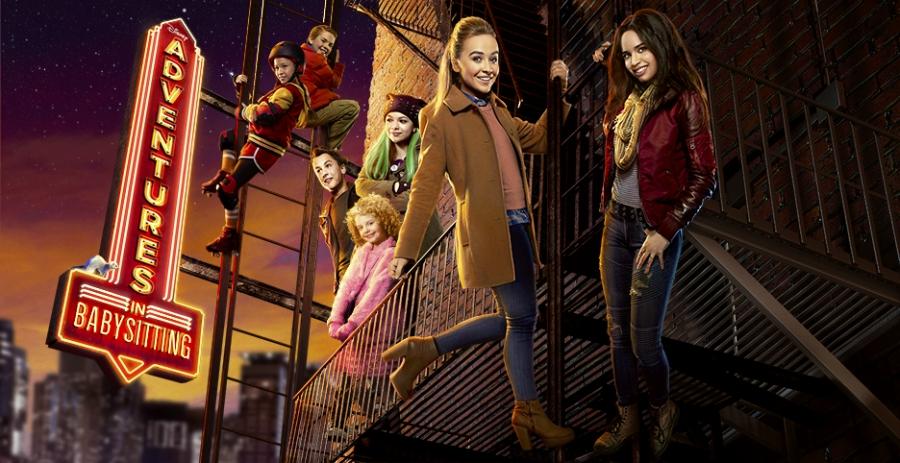 """""""Adventures in Babysitting"""" movie poster"""