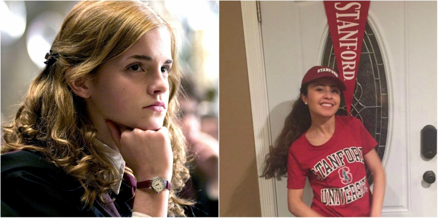 If you love Hermione, you should look up to Brittany Stinson