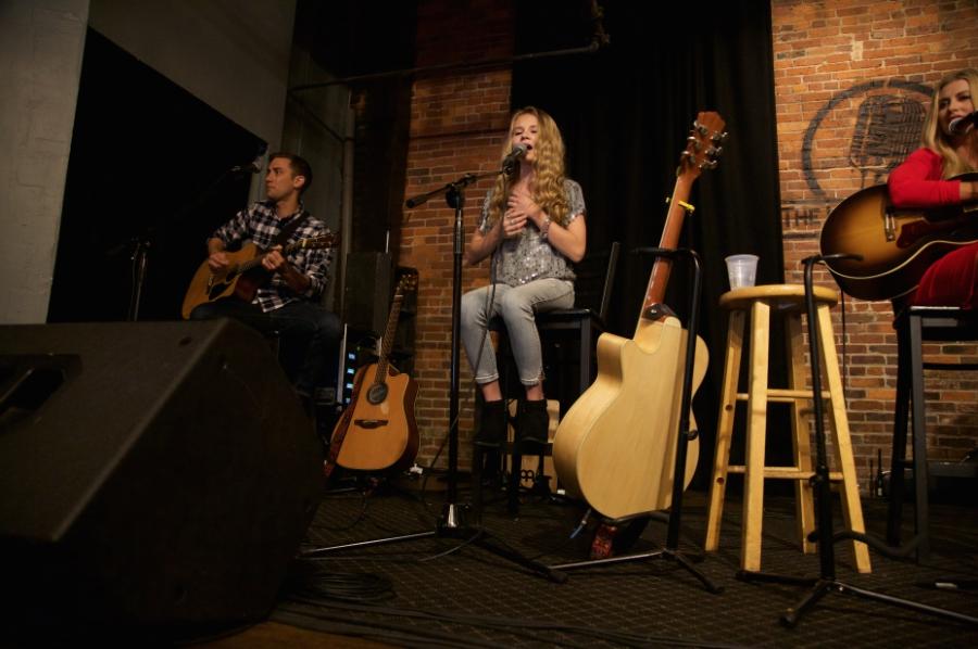 Tegan Marie performing live at Diva Jam at CMA Music Festival