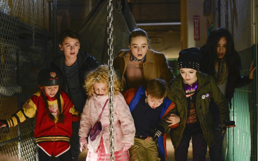 """Still shot from Disney Channel's 100th Original Movie """"Adventures in Babysitting"""""""