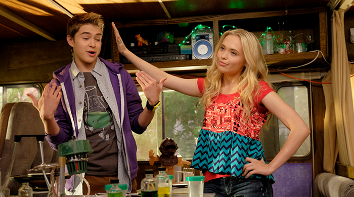 "Barry and Shelby from Disney Channel's ""Best Friends Whenever"""