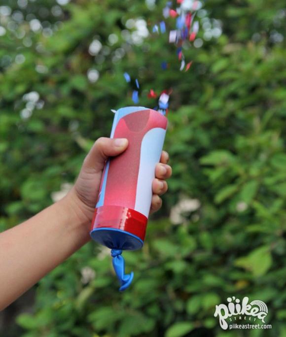 DIY Confetti Launchers