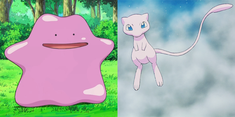Is Ditto a failed clone of Mew?