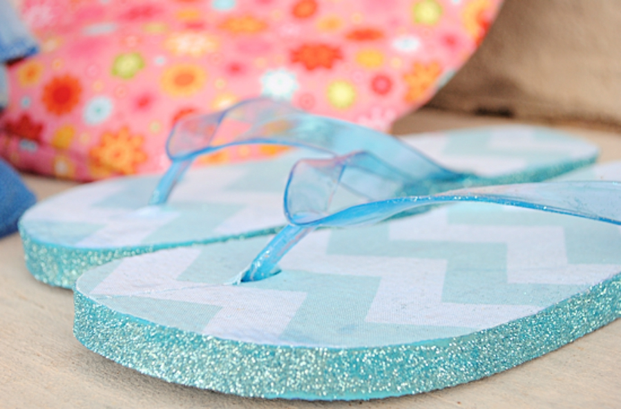 73d949af282e87 Beautiful   Easy DIY Flip-Flops Tutorials to Try This Summer