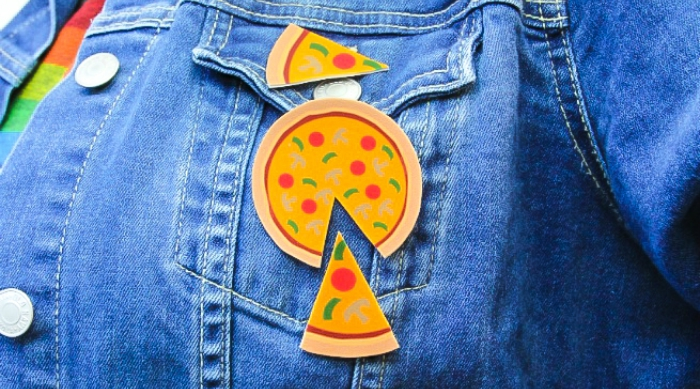 DIY pizza pin
