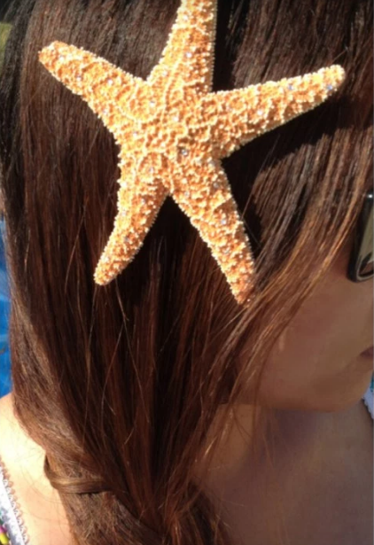 diy hair accessories to wear at the this summer