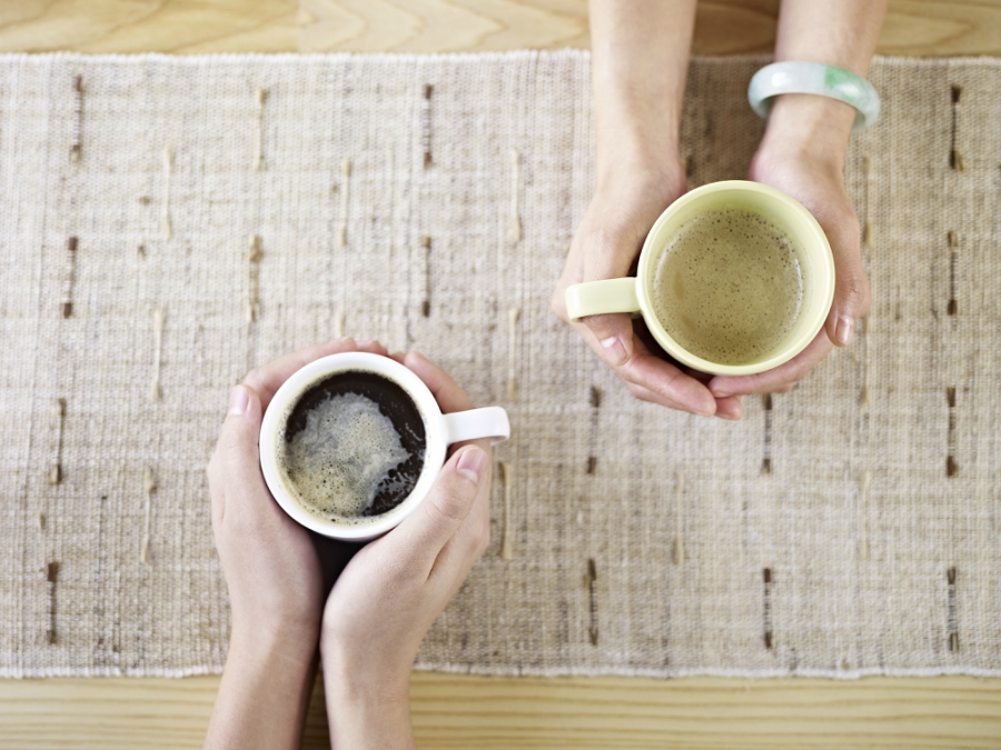Two cups of coffee shutterstock image