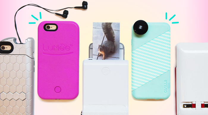 High tech phone cases: Imvio, TurtleCell, LuMee, Prong and Prynt