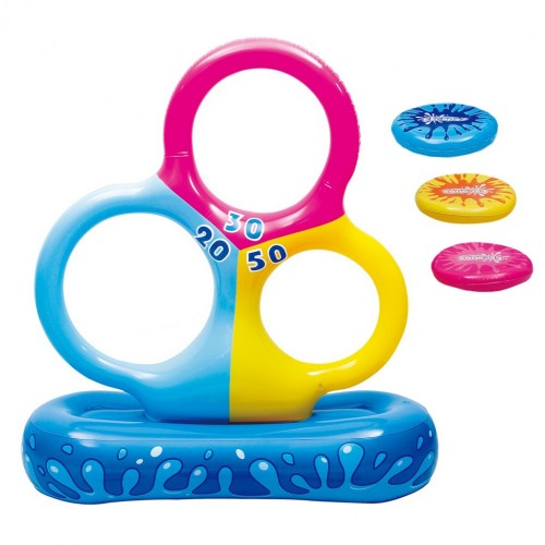 Pool party ring toss game