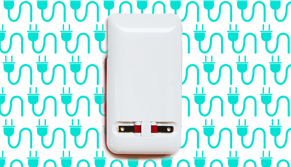 The Prong PWR Case has a charger built right into the phone to plug into any outlet