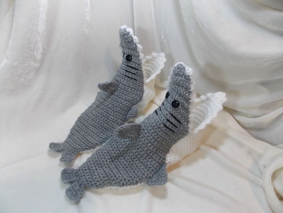 Shark ankle socks for Shark Week