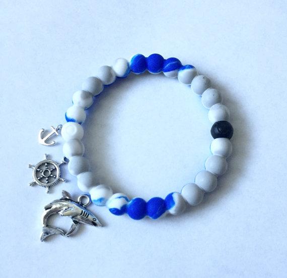 Shark Week bracelet