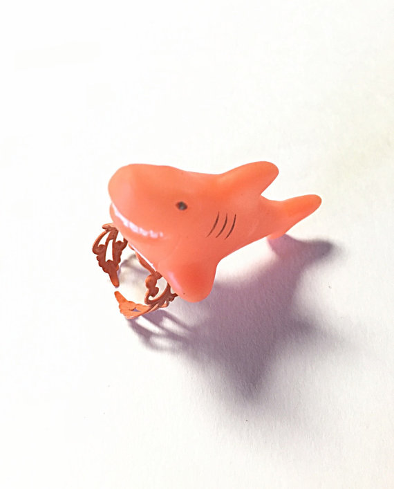 orange Shark Week rings