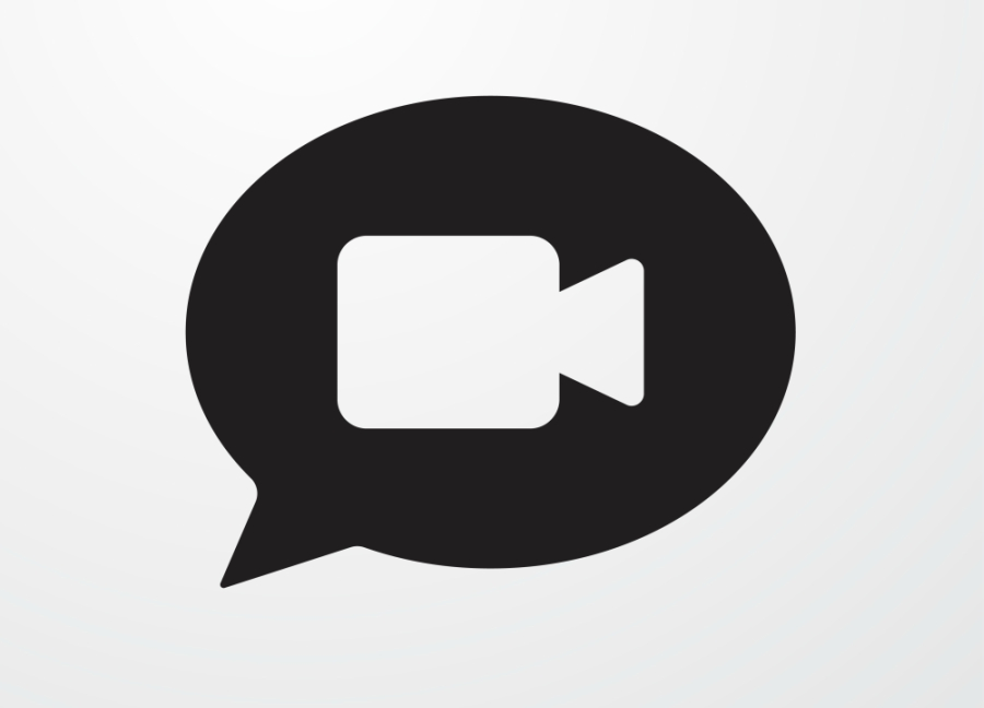 Video call icon take from Shutterstock