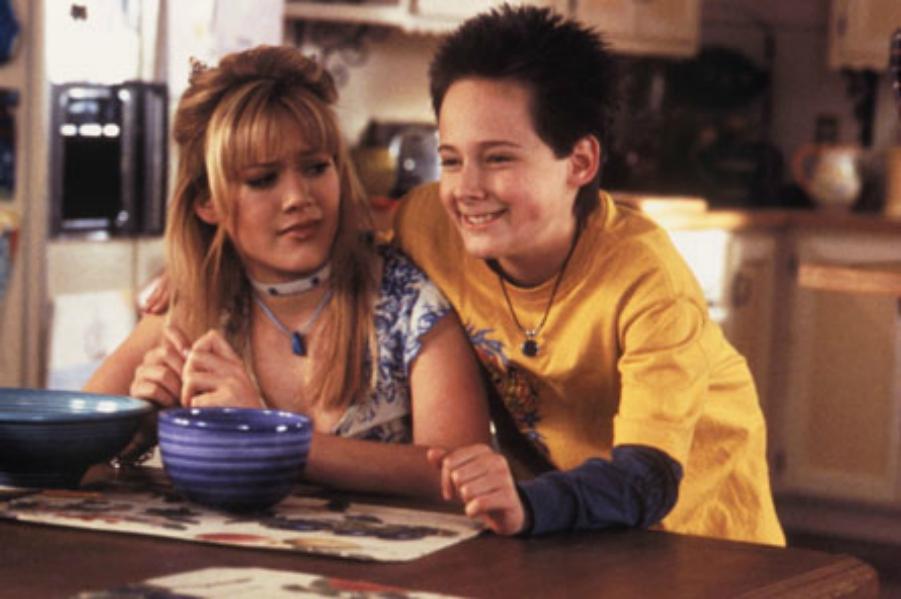 Matt and Lizzie from Lizzie McGuire