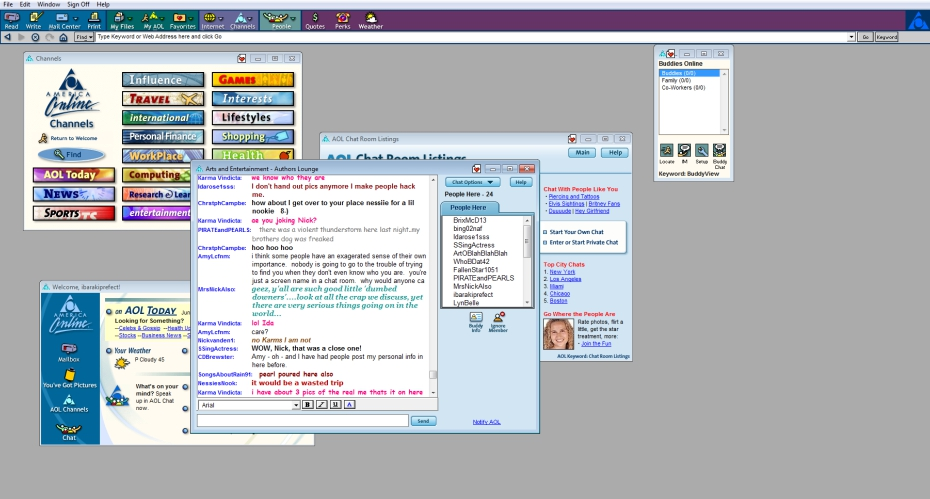Aol chat rooms app