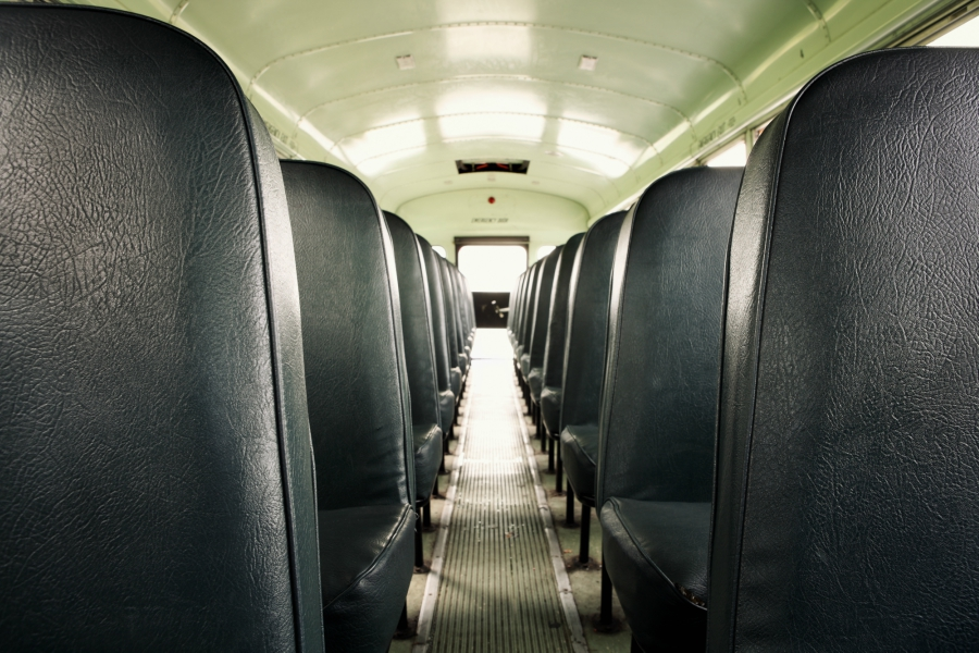 worst things about riding a school bus to high school