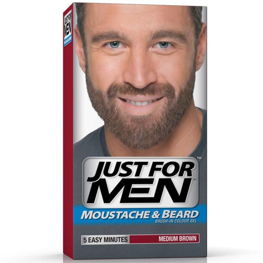 Just For Men Beard Dye to Increase Brow Fullness