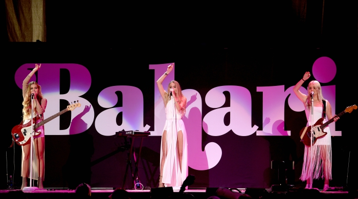 Bahari onstage during Selena Gomez's Revival Tour