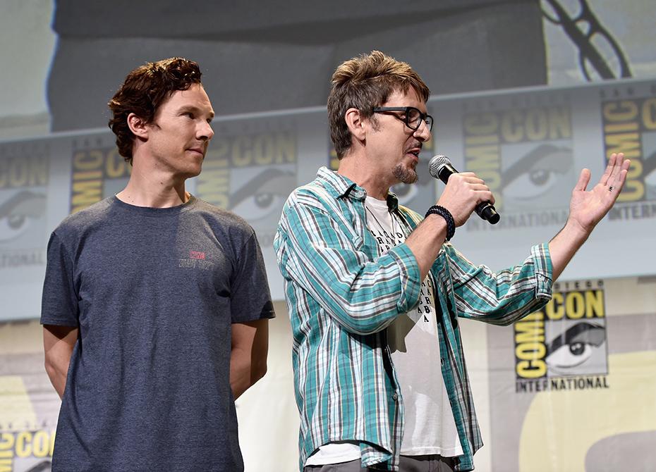 Benedict Cumberbatch, star of Doctor Strange at Comic-Con 2016