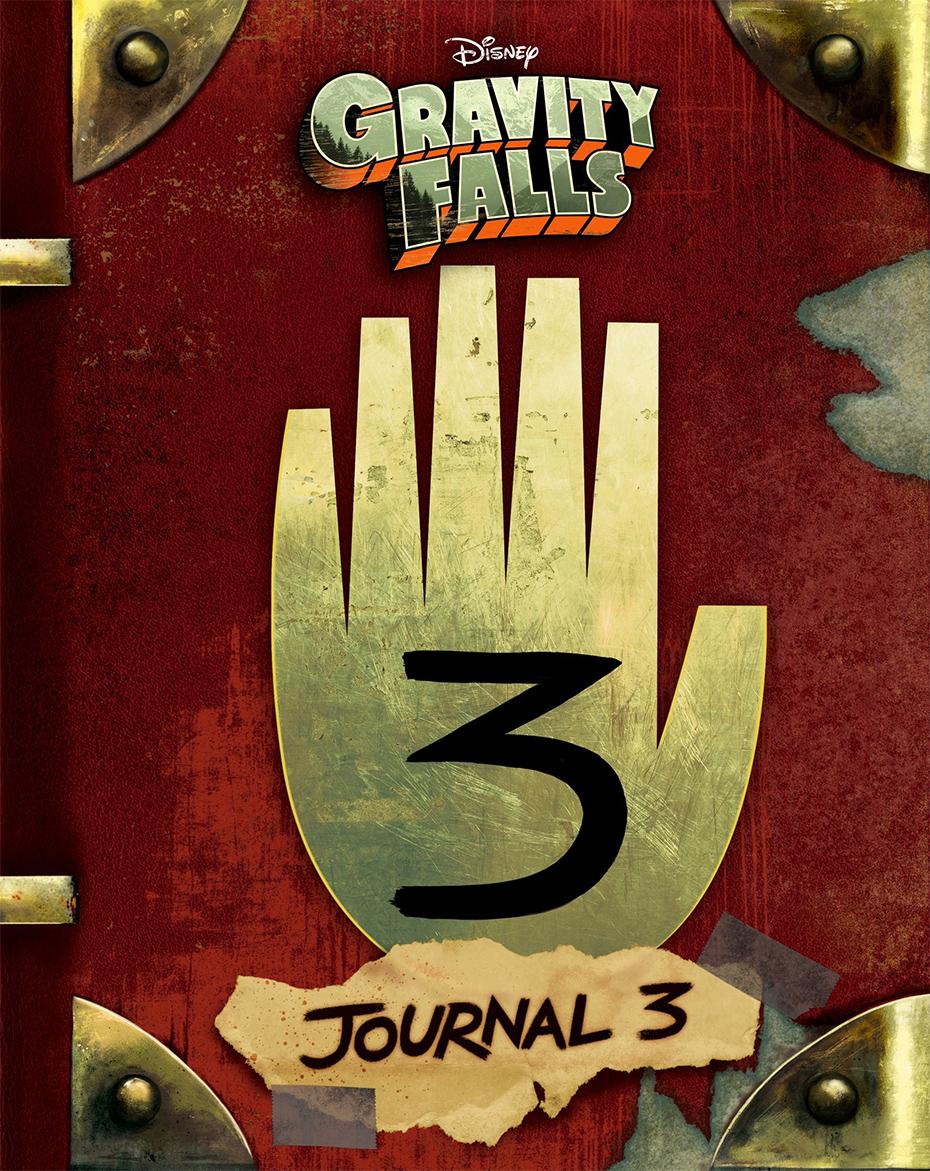 Gravity Falls: Journal 3 book cover