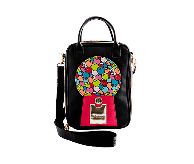 Betsey Johnson gumball lunch tote