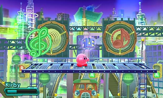 Collect Code Cubes in Kirby Planet Robobot
