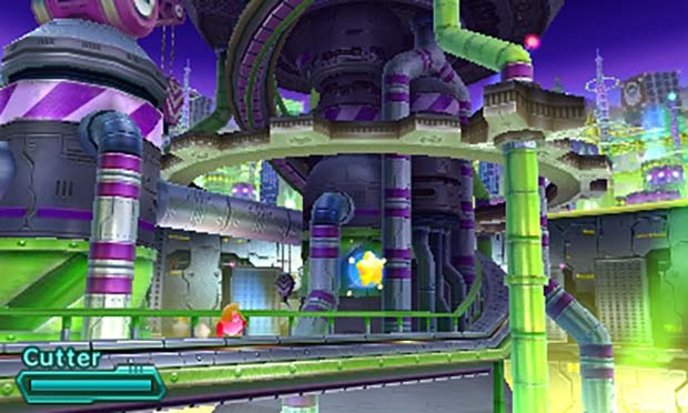 Kirby: Planet Robobot has gorgeous 2.5 dimensional graphics