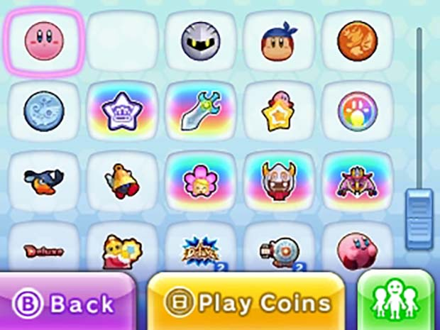 Kirby Planet Robobot sticker collection