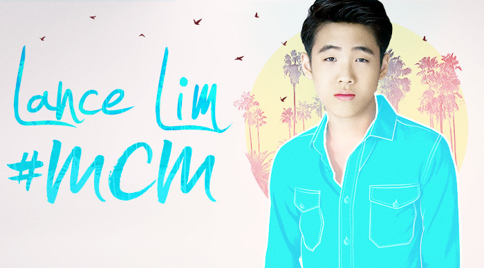 """School of Rock"" star Lance Lim with #MCM artwork"