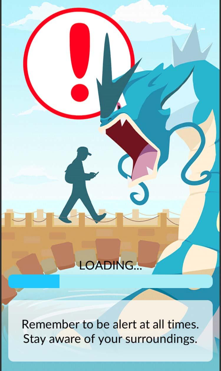 Pokémon Go wisdom: pay attention and stay alert