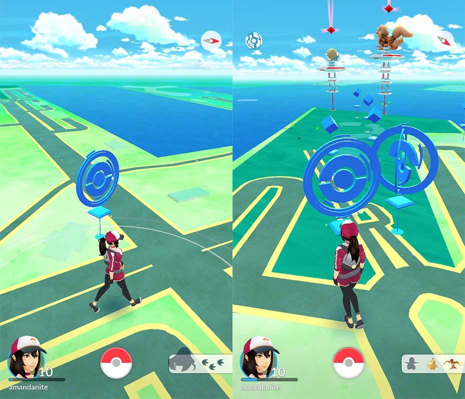 Pokéstops in Pokémon Go